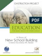 School Construction Report- KP