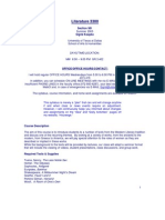 UT Dallas Syllabus for lit3300.581 05u taught by Sigrid Koepke-fruend (sigrid)