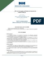 1982.08.10_9 LEO Estatuto de Autonomía de Castilla La Mancha (CONSOLIDADO)