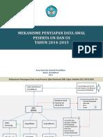 Mekanisme Data Awal UN Dan US