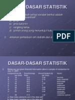 dasar2 statistik