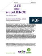 Climate Change Resilience