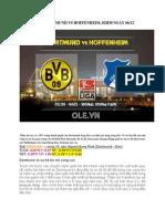 Lịch Thi Đấu Bóng Đá Dortmund vs Hoffenheim 02h30 Ngày 06-12