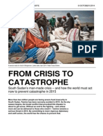 From Crisis to Catastrophe