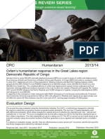 Humanitarian Quality Assurance - Democratic Republic of Congo