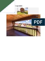 Small Russian Log Cabin