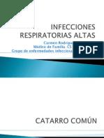 Infecciones de Vias Respiratiras Altas