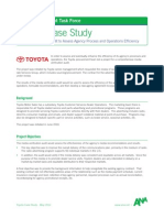 Task Force Toyota Case Study