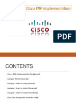 Cisco Erp Analysis