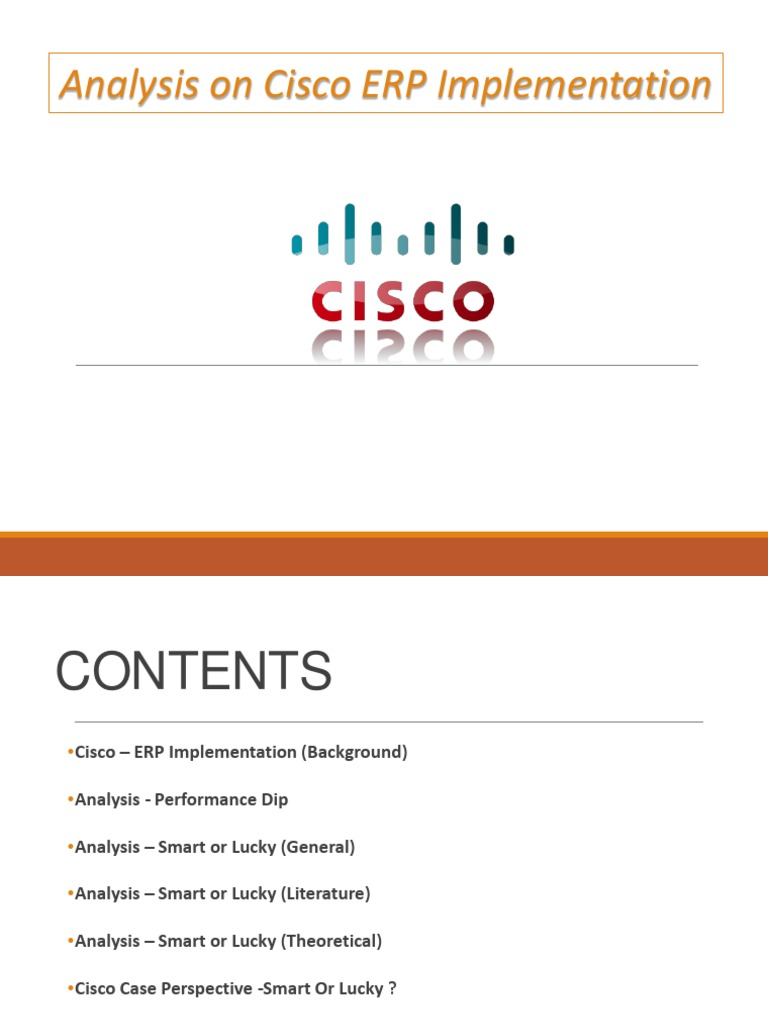 cisco analysis