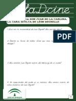 Cuestionario Don Juan de La Carlina