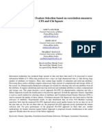 A Novel Approach for Feature Selection Based on Correlation Measures CFS and Chi Square