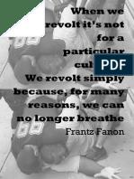 Fanon Poster for Eric Garner