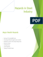 Health Hazards in Steel Industry