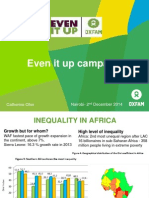 Inequality Campaign - Even It Up - Catherine Olier