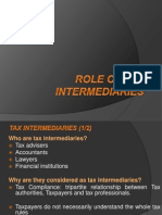Role of Tax Intermediaries