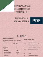 SERI VI RESEP 3