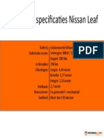 Specificaties Nissan Leaf