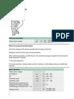 Moeller Datasheet IZM-XM230AC 220DC 230545