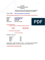 UT Dallas Syllabus for ee3350.001 05s taught by P Rajasekaran (pkr021000)