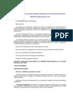 D.L. Nº 1150 Que Regula El Régimen Disciplinario PNP