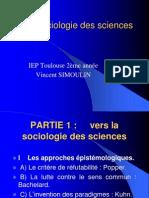 Sociologie Des Sciences I 1