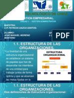 Presentacion Gestion Empresarial UNIDAD 1-Jose Moreno