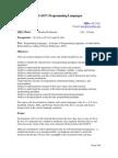 UT Dallas Syllabus for cs4337.001 06s taught by Shyam Karrah (skarrah)