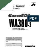 O&M WA380-3 50001 up GSAD005800