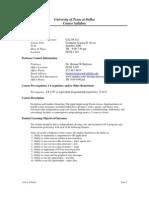 UT Dallas Syllabus for cs2336.521 06u taught by Herman Harrison (hxh017200)