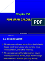 Bab 08 Pipe Span Calculation