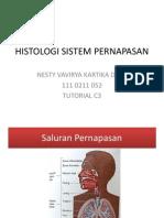 Histologi Sistem Pernapasan
