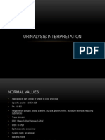 Urinalysis Interpretation