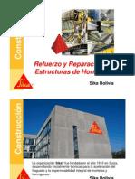 Refuerzo y Reparación Estructural -Cbba - Sta