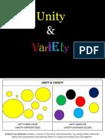 Unity vs Variety