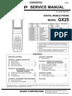 GX25 Service Manual