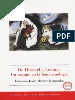 Herrero Francisco Javier - De Husserl a Levinas - Un Camino en La Fenomenologia