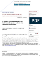 Revista de Nutrição - Food Social Space_ a Tool to Study Food Patterns