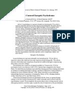 Journal Psychodrama