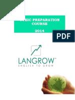 Curso de Preparacion Toeic 2014- Español