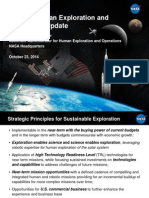 NASA Human Exploration and Operations Update (October 23, 2014)