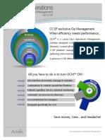 OCM Product Sheet En