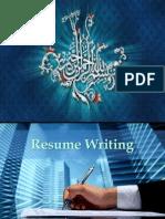 Resume Writing(New)