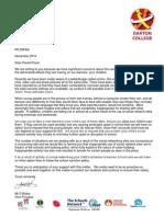 Letter Re Social Networking Sites Final Dec 2014