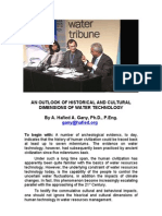An Outlook of Historical and Cultural Dimensions