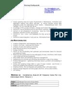 Chinmay Deshpande CV