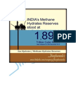 India's Methane Hydrates Reserves 25th November 2014