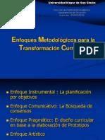 Enfoques Metodológicos Para La Transformación Curricular 02