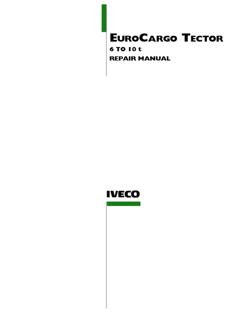 Enjoyable Iveco Eurocargo 6 10T Repair Manual Pdf Fuel Injection Wiring Digital Resources Remcakbiperorg