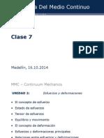 Unidad 2 Clase 1 Mecanica del medio continuo